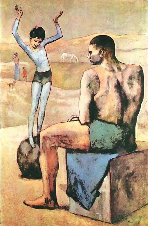 1905 Acrobate et sa balle