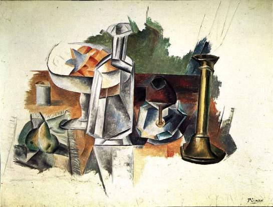1909 Carafe et chandelier