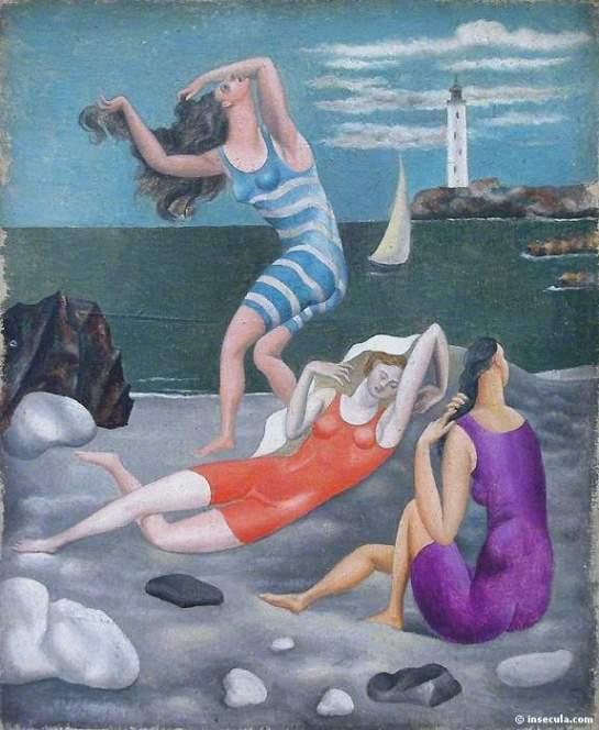 1918 Les baigneuses