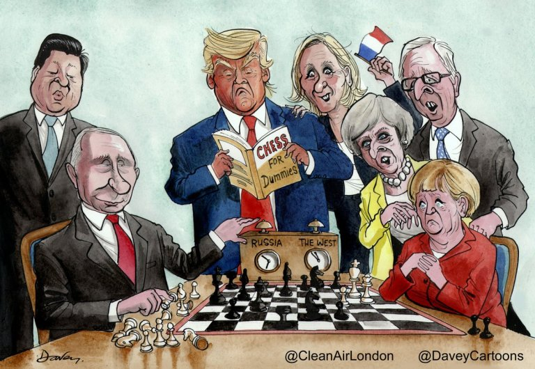 chess putin vs the west